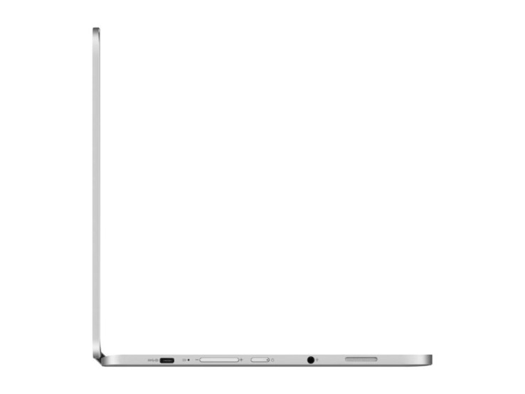 "The C302CA is relatively sleek for a convertible at only .54"" thick. (Source: Newegg)"