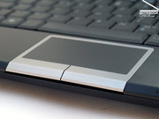The multi-touch touchpad still offers interessting additional functions, which make using the netbook even easier.
