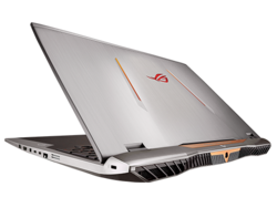 In review: Asus ROG G701VO-CS74K. Test model provided by Xotic PC