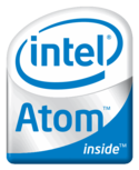 Intel Atom Badge