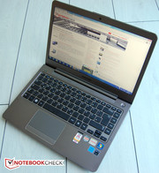 The Samsung Series 5 535U4C is a very sleek notebook.