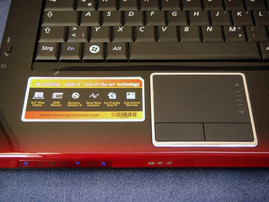Samsung R560 Touchpad