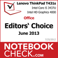 Award Lenovo ThinkPad T431s
