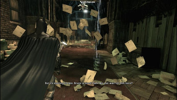 PhysX on – the attractive paper effects are partly scripted