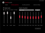 Beats Audio controls