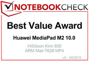 Best Value in April 2016: Huawei MediaPad M2 10.0