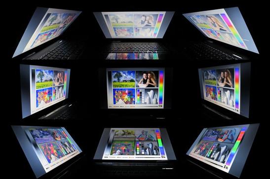 Viewing angles: Medion Erazer X6815
