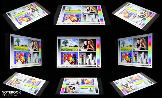 Viewing Angles Samsung Galaxy Tab