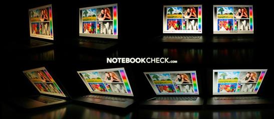 Viewing Angles MacBook Pro 2.53 (Late 2008) versus MacBook Pro 2.2 (Mid 2007 - matte)