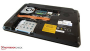 Hard drive and memory can be replaced very easily.