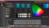 CalMAN ColorChecker (non-calibrated)