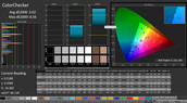 CalMAN: ColorChecker (calibrated)