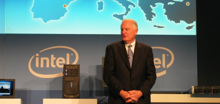 Dr. Craig R. Barrett, Chairman of the Intel Board