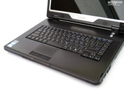 With a magnesium alloy chassis, the Chiligreen X7 tries to answer the increasing demand for robust notebooks.