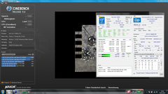 Cinebench Multi-thread: 2.4 up to 2,5 Ghz