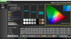 CalMAN ColorChecker pre-calibration