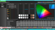 CalMAN: ColorChecker post-calibration