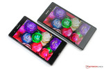 The Sony Xperia Z and Z1 have different panels.