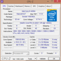 CPU Z Summary