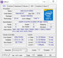 Screenshot tool CPU-Z