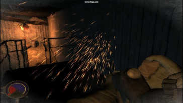 PhysX on – weapon projectiles provide for pretty sparks