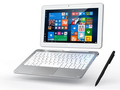 Cube's Mix Plus is a low-powered, low-cost laptop/tablet hybrid. (Source: Cube)