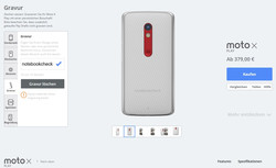MotoMaker allows customizing the smartphone,