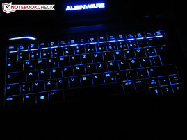 Keyboard illuminated