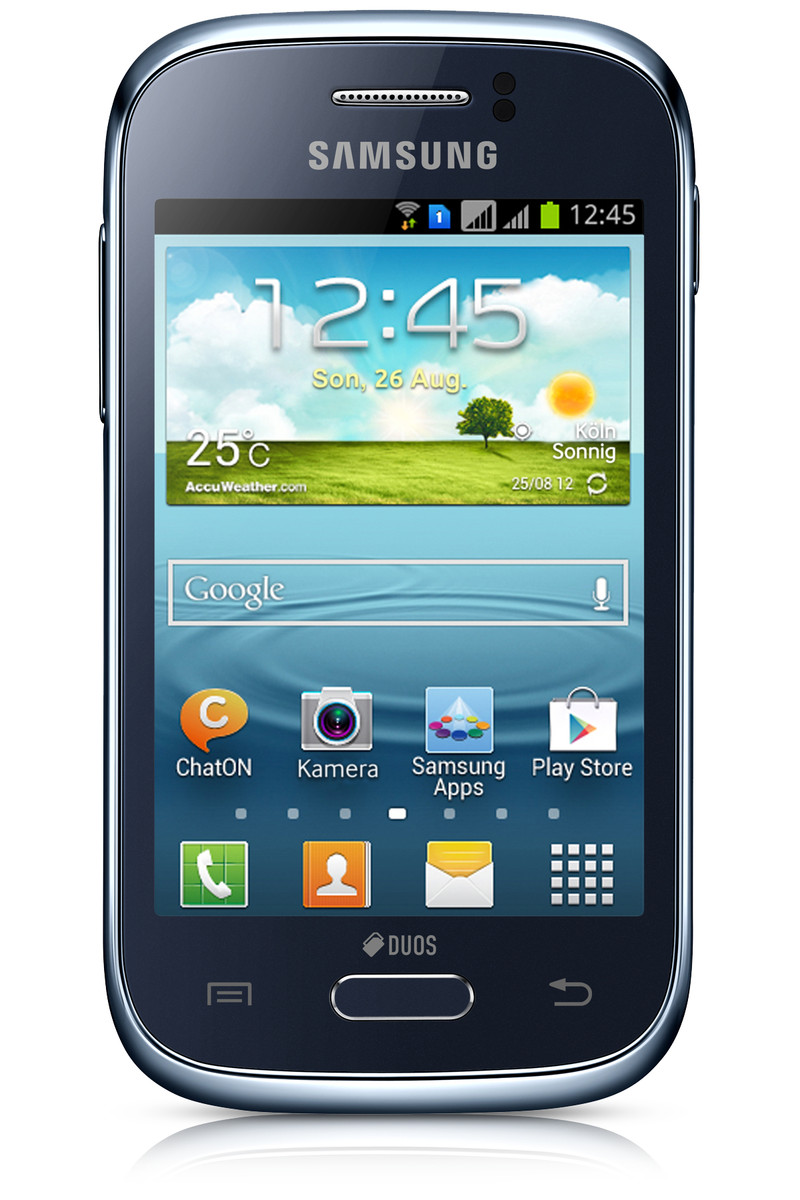 Review Samsung Galaxy Young DUOS GT-S6312 Smartphone ...