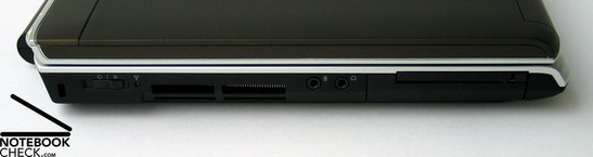 Dell Inspiron 1520 Interfaces
