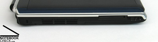 Dell Inspiron 1720 interfaces