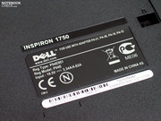 Dell has upgraded their 17 inch starter devices behind the label Inspiron 1750...