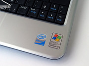 Für die nötige Performance sorgt eine Intel Atom N270 CPU mit 1.6 Ghz.