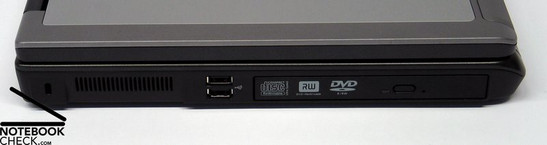 Dell Precision M90 interfaces