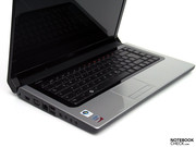 As already its forerunners, the current variation of the multimedia notebook has the wedge-shaped base unit,...