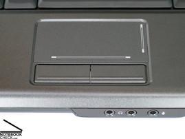 Dell Vostro 1400 Touch pad