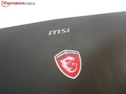 The dragon logo reveals MSI gaming machines.