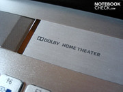 Support for Dolby Home Theater is also built-in