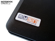 mySN has stuck its logo onto the notebook lid.