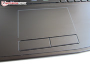 Dedicated keys are incorporated in the touchpad.