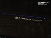 Surround sound barely develops despite 5.1 surround sound