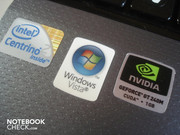 A Core 2 Duo P7350, Windows Vista Home Premium 32bit and a Geforce GT 240M are put in the Acer 5739G