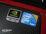 Nvidia Geforce GTX 260M and Intel Core 2 Duo T9550