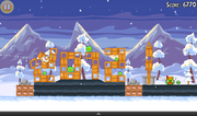 Alas, no tablet review is complete without first playing Angry Birds.