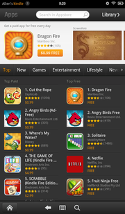 "The Amazon app store is still young, but users can still ""sideload"" and install Android APKs."
