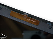 In the display frame there is also a 2.0 mega-pixel web cam.