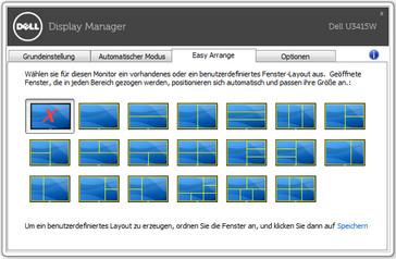 Dell easy arrange