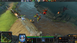 Dota 2: Still playable in 1080p and high details.