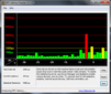 DPC latencies, virtually always in the green, however there's a red spike when making a screenshot.