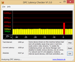 Occasional DPC latencies